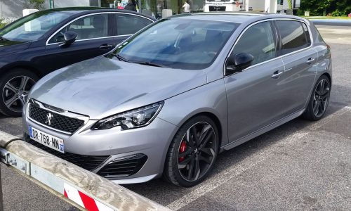 New Peugeot 308 GTi spotted before Goodwood debut