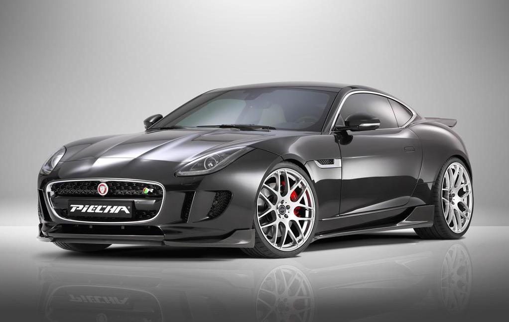 Jaguar F Type R Exhaust >> Piecha Design creates styling kit for Jaguar F-Type R ...