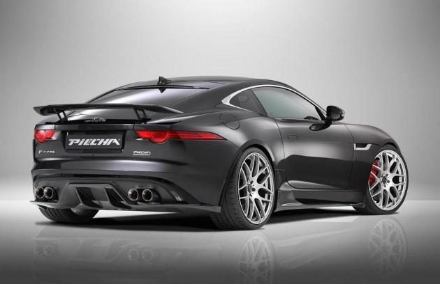 Piecha Design Jaguar F-Type V8 R Coupe-rear