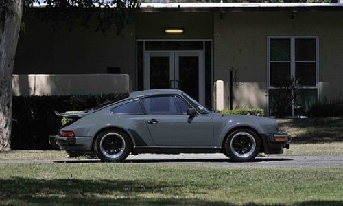 For Sale: 930 Porsche 911 Turbo owned by Steve McQueen