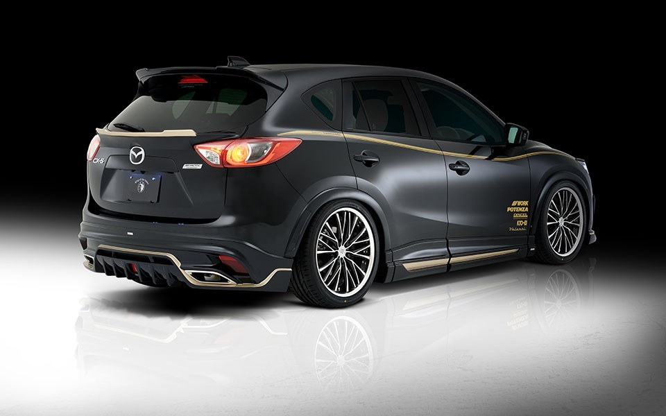 Mazda Cx 6 >> Rowen develops VIP-style kit for Mazda CX-5 SUV ...