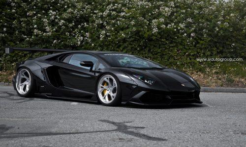 SR Auto creates sinister wide-body Lamborghini Aventador