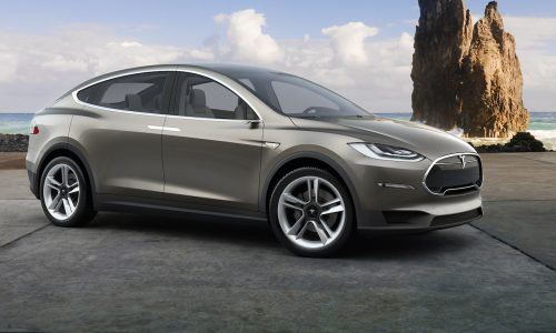 Tesla Model X to go into production in 3-4 months