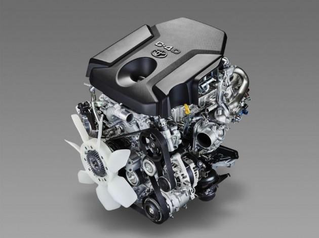 Toyota 1GD-FTV 2.8 engine