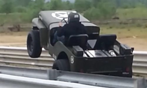 Video: 1000hp Chev LSX-powered Willys Jeep is insane
