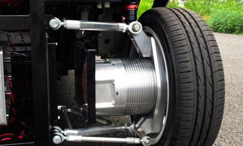 Uni of Tokyo develops first wireless in-wheel electric motor