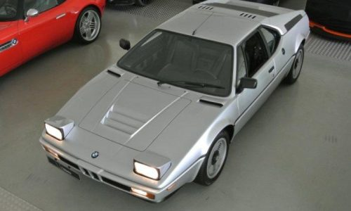 For Sale: Original 1981 BMW M1, 1 of 3 in Polaris Silver