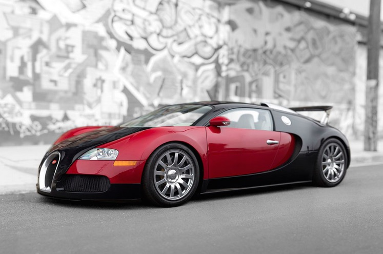 Pre Owned Tesla >> For Sale: Original 2006 Bugatti Veyron build number 001 ...
