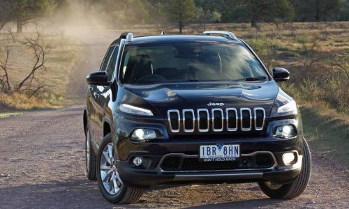 Jeep sticking with Cherokee's controversial design for 2016 update