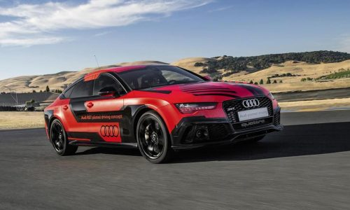 Audi updates RS 7 piloted driving concept, sheds 400kg
