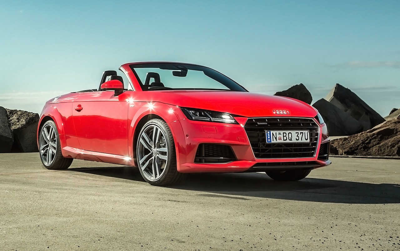 2015 audi tt roadster on sale in australia from 81 500. Black Bedroom Furniture Sets. Home Design Ideas