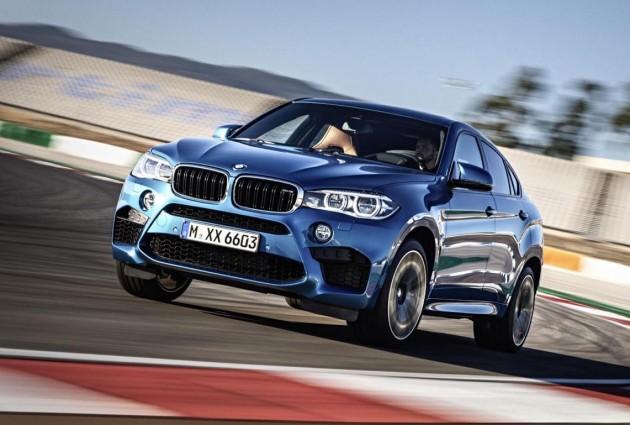 2015 BMW X6 M-track