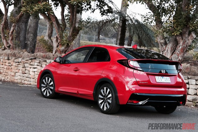 2015 Honda Civic VTi-L-Australia