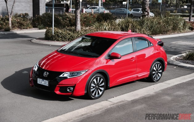 2015 Honda Civic VTi-L hatch