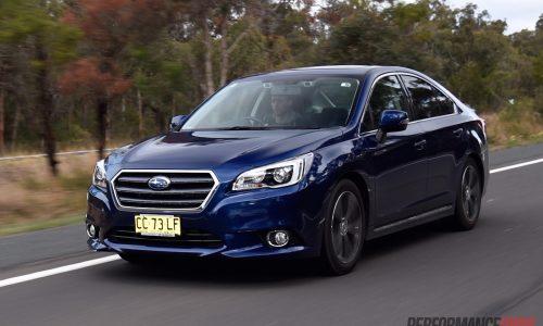 2015 Subaru Liberty 3.6R review (video)