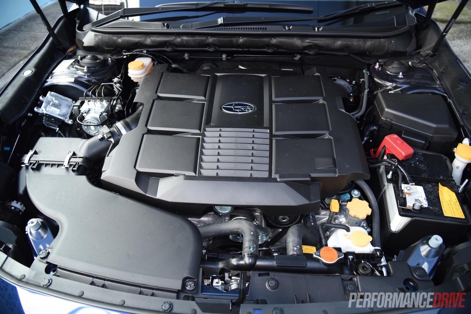 2015 Subaru Liberty 36r Review Video Performancedrive 3 6r Boxer Engine Diagram