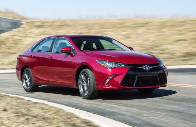 2015 Toyota Camry US-spec