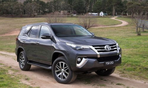 2016 Toyota Fortuner revealed, on sale in Australia in October