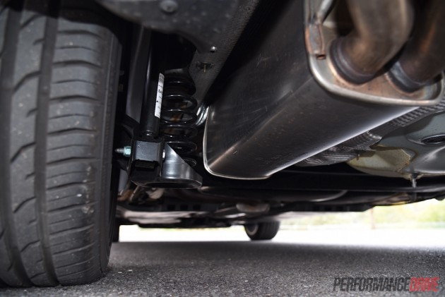 2015 Volkswagen Polo GTI-rear suspension