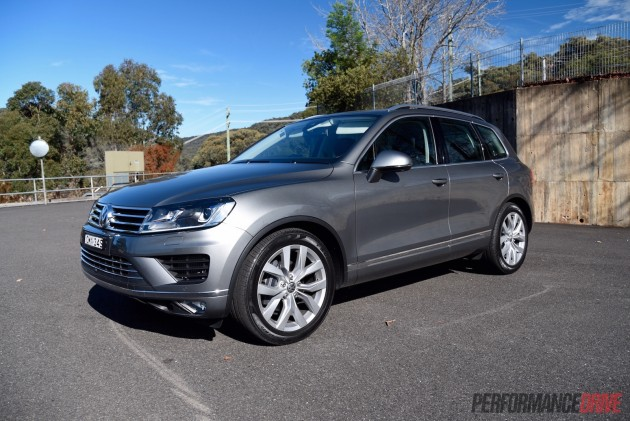 2015 Volkswagen Touareg V6 TDI-low suspension