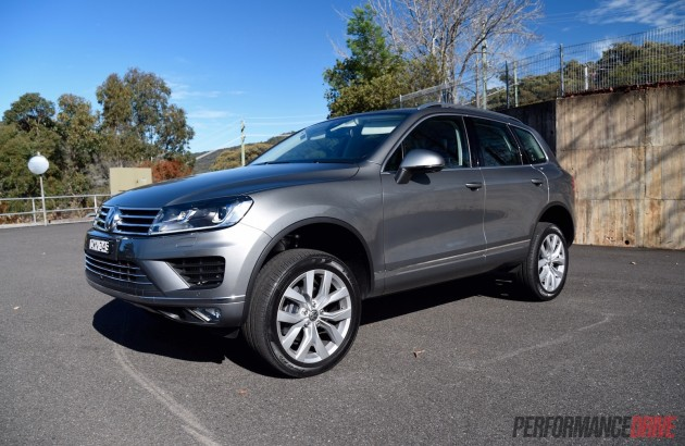 2015 Volkswagen Touareg V6 TDI-raised suspension