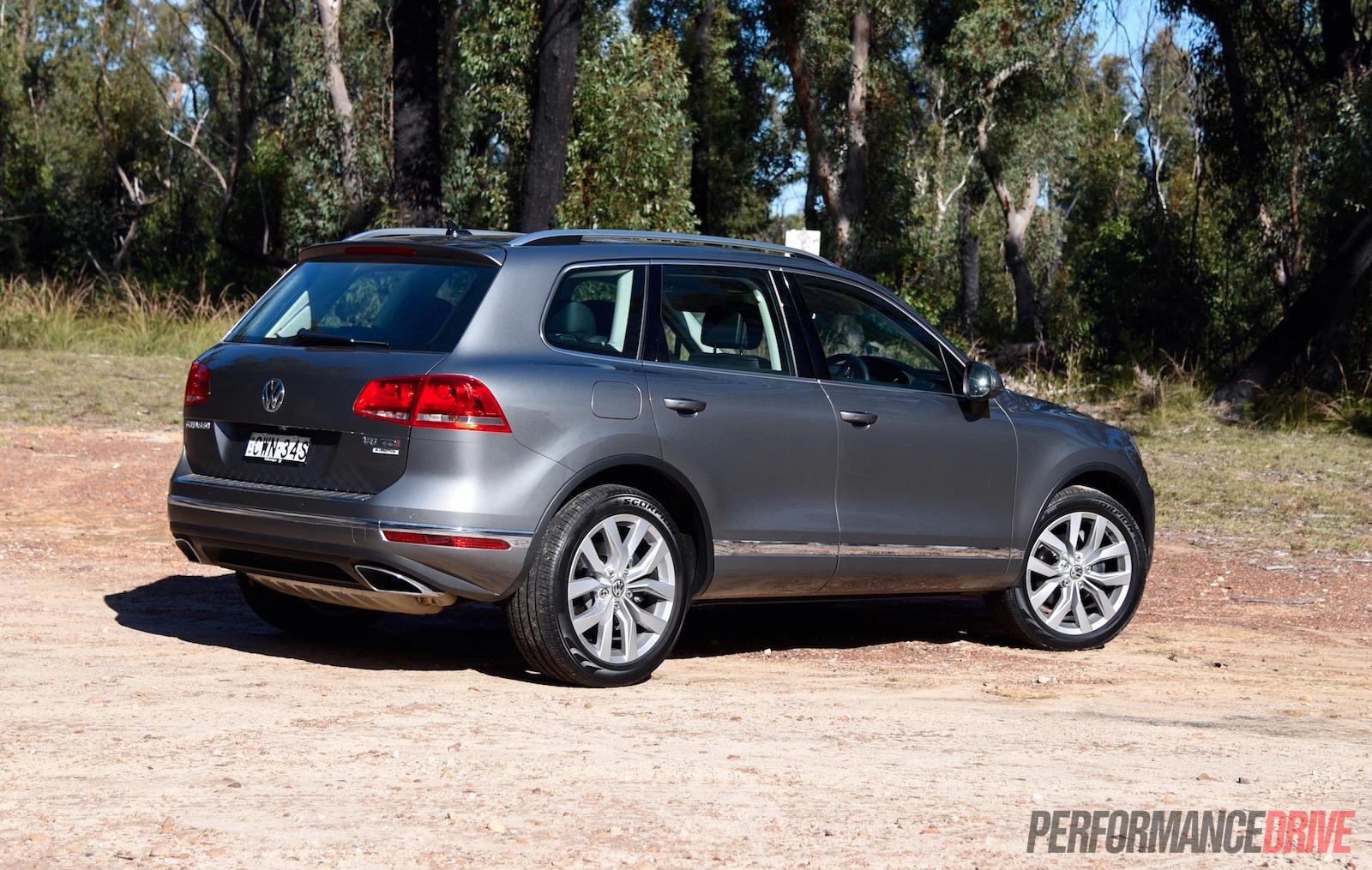 2015 Volkswagen Touareg V6 Tdi Review Video Performancedrive