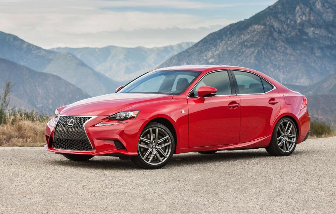 2016 lexus is update revealed for usa is 300h gets 3 5l v6 performancedrive. Black Bedroom Furniture Sets. Home Design Ideas
