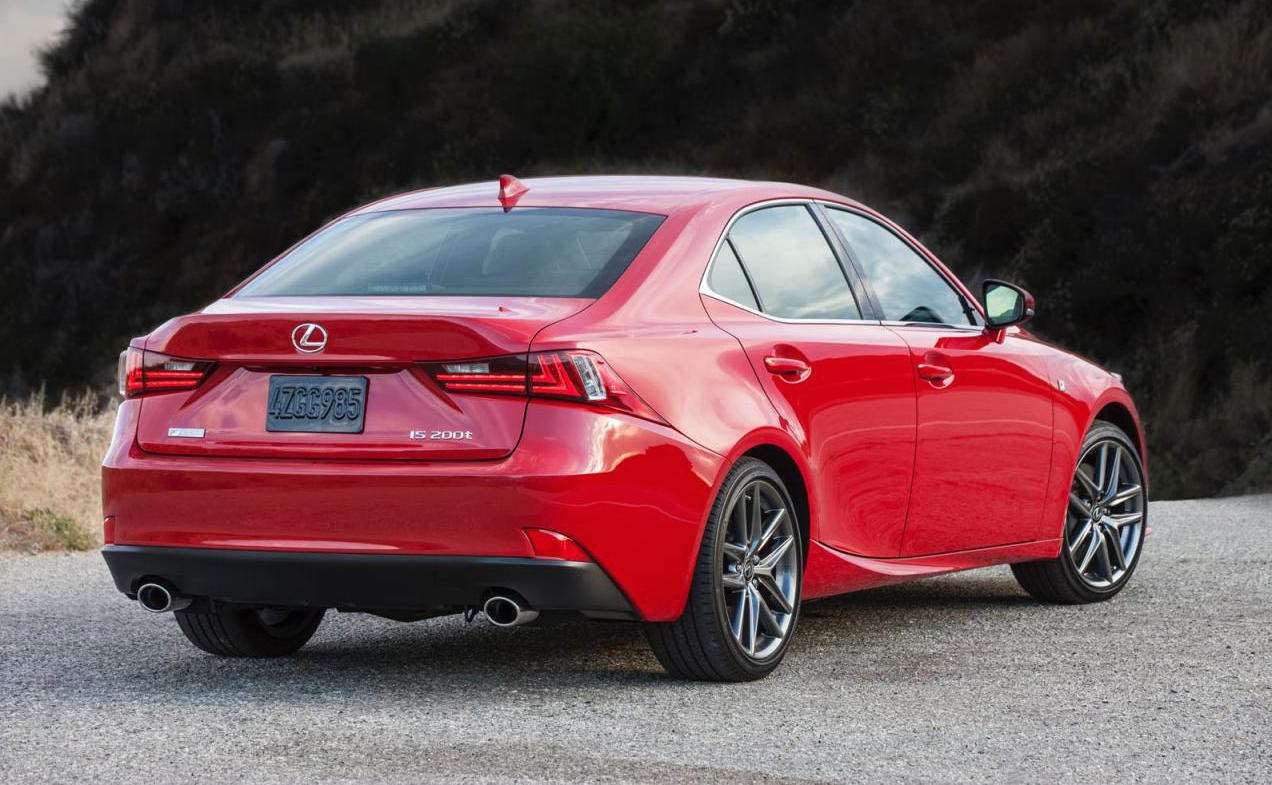 2016 Lexus IS Update Revealed For USA IS 300h Gets 35L