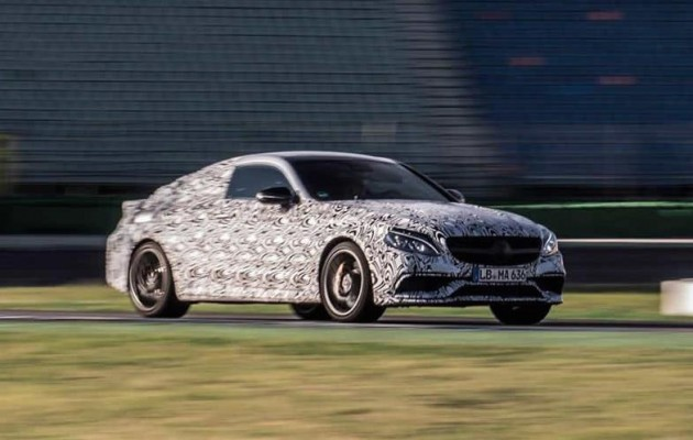 2016 Mercedes-Benz C 63 AMG Coupe prototype-1