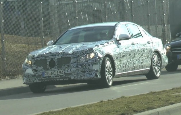 2016 Mercedes-Benz E-Class prototype