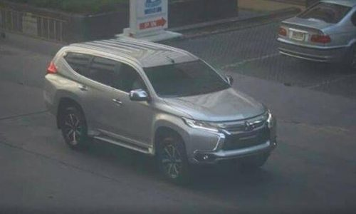2016 Mitsubishi Challenger spotted in pre-production form