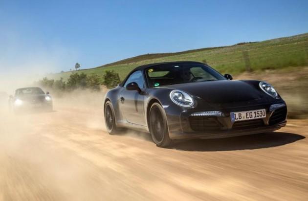 2016 Porsche 911 convertible prototype
