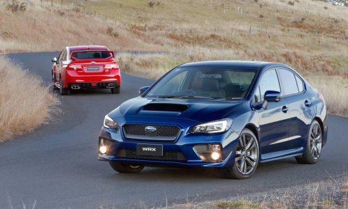 2016 Subaru WRX & STI on sale in Australia from $38,990