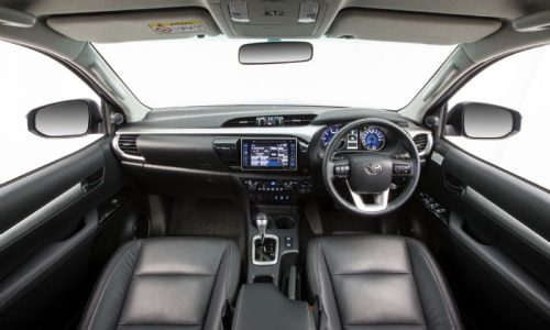 2016 Toyota HiLux interior revealed, on sale in Australia in October