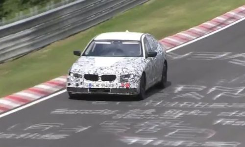 Video: 2017 BMW 5 Series spotted on the Nurburgring
