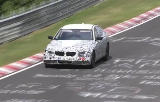 2017 BMW 5 Series prototype