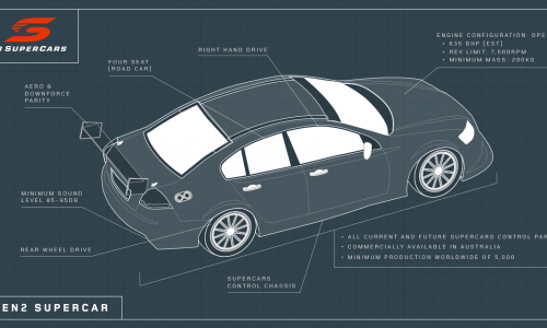 More details on 'Gen2' 2017 V8 Supercars regulations emerge