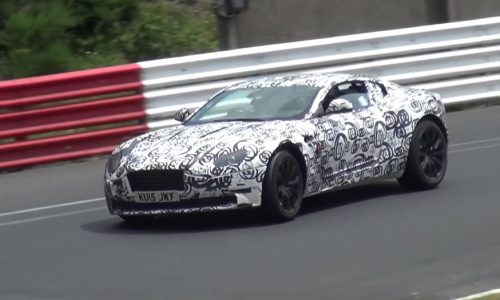Video: Aston Martin DB9 replacement spotted, to be called DB11?