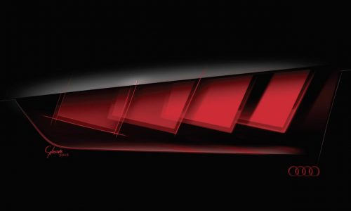Audi C-BEV concept previews new OLED lighting technology