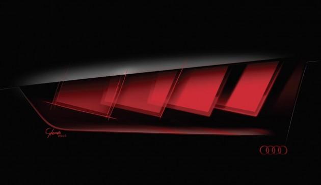 Audi C-BEV OLED taillights