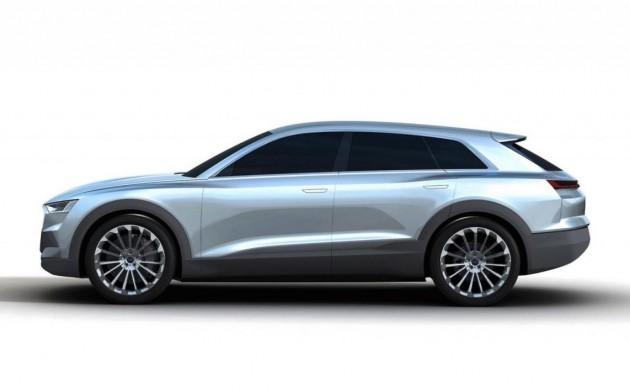 Audi C-BEV Q6 concept-maybe