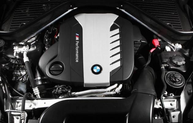 BMW X5 M50d engine