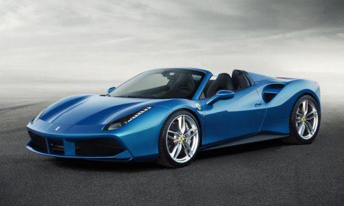 Ferrari 488 Spider revealed; lighter, more powerful than 458 Spider