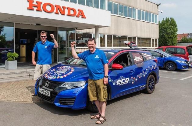 Honda Civic Tourer i-DTEC world record
