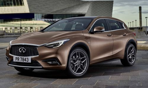 Infiniti Q30 revealed in production form, or is it the QX30?