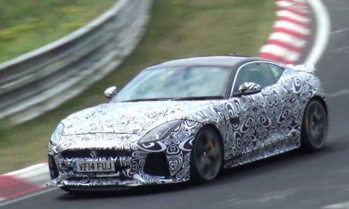 Video: Jaguar F-Type 'SVR' prototype spotted at Nurburgring