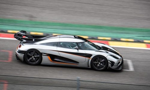 Koenigsegg One:1 breaks another lap record; Spa-Francorchamps