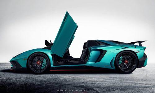 Is this the Lamborghini Aventador Superveloce Roadster?