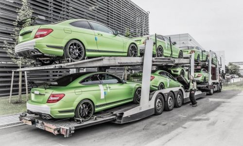 Mercedes C 63 AMG Coupe Legacy Edition announced