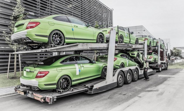 Mercedes-Benz C 63 AMG Coupe Legacy Edition-truck